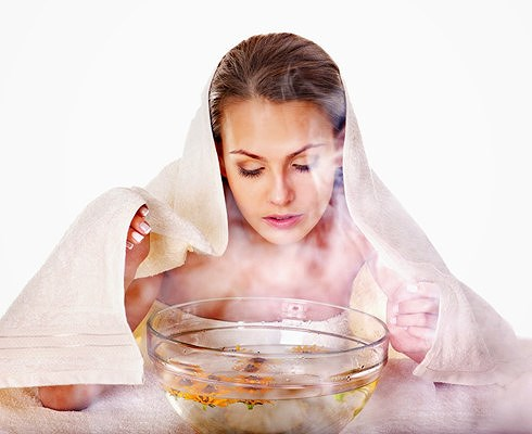Xông cảm cúm bằng thảo dược truyền thống